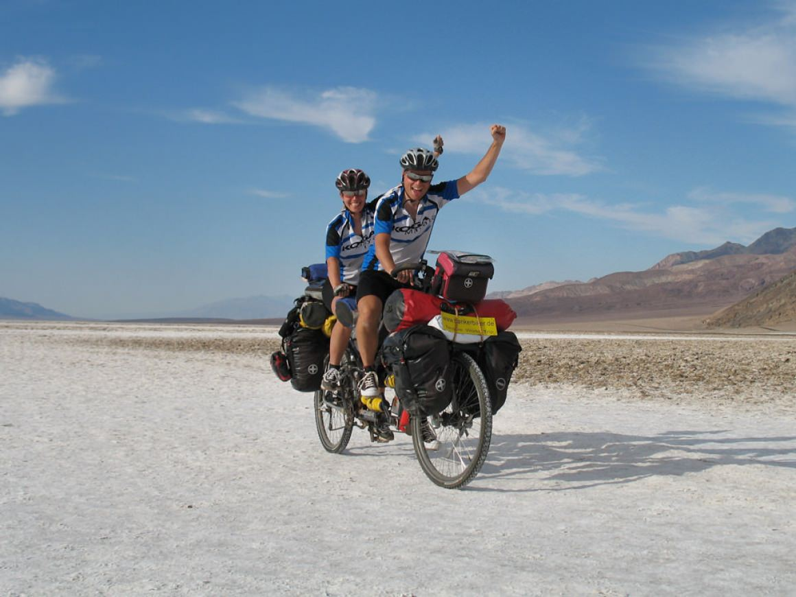 BankerBiker on WorldTour by Tandem
